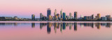 Perth and the Swan River at Sunrise, 7th November 2018