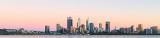 Perth and the Swan River at Sunrise, 26th November 2018