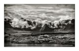 Cuillin Ridge from Ullinish, Skye