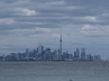 Views of the Toronto skyline