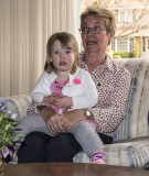 A nice one of Emma and Grandma