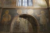 Istanbul Kariye Museum Warrior Saints SE Arcosolium march 2017 2415.jpg