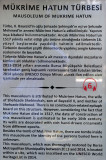 Bursa Muradiye complex Mukrime Hatun Turbesi october 2018 7985.jpg