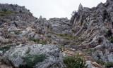 Amasya corrugated rock