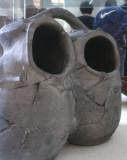 Human shaped double vessel