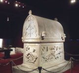 Lycian Sarcophagus in whole