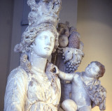 Goddess with child