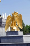A five-headed eagle