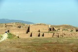 The archeological site of Nisa on the outskirts of Ashgabat