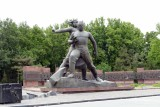The Monument to Courage in Tashkent