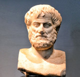 Bust of Aristotle at the Acropolis Museum