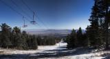 Sandia Peak Ski Trail...