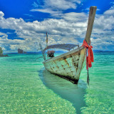 Longtail Boat on the Andaman Sea