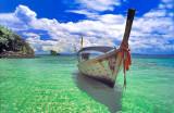 Sea & Sky and a Boat Named 'Joy'