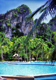 Pool & Lux Pavilions of the Rayavadee Resort