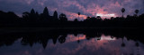Sunrise at Angkor Panorama