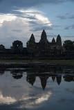 Morning Silhouette of Angkor