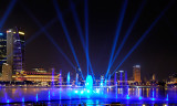 'Wonder Full' Laser Light Show at Marina Bay Sands