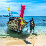 Island Hopping by Longtail Boat