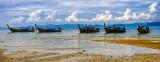 Longtail Boats off Tubkaak Beach
