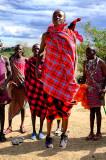 Leaping Maasai