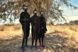 Newly Circumcised Maasai Boys