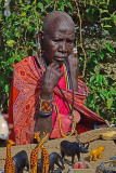 Woman, Maasai Village