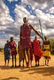 Maasai Villager
