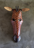 Hand -Carved African Mask