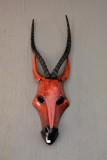 Hand-Carved Antelope Mask