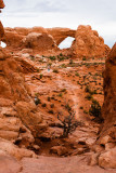 North & South Window Arches from Double Arch