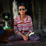 The Handsome Vietnamese Old Lady @ Siem Reap