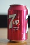 Cherry-flavoured 7up