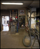 Workshop and storehouse