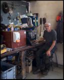 Kjell - responsible for car repairs