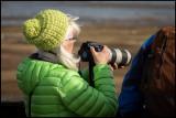 One of many female photographers