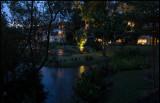 Evening at our hotel Dusit Krabi