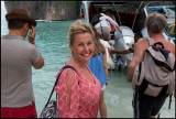 Susanne on Maya Beach