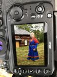 Midsusmmer in Fatmomakke (Lapland) sent through my Nikon