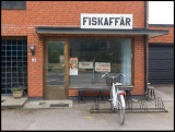 The old fish-shop in Mörbylånga