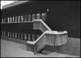 Stairs outside Kalix hospital