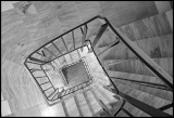 Stairs inside Kalix hospital