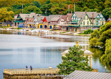 Viewing the boathouses