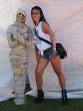 Pin-Up Contest And Car Show At Symco