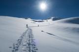 Neige et raquettes dans le Queyras