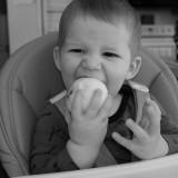 Loving the apple