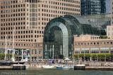 Entrance to Three World Financial Center