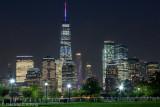 Lower Manhattan at night 1
