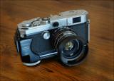 Canon L3, Industar-61 L/D 2,8/55 mm  (Lanthanum glass)