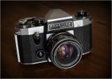 Praktica Super TL, Pentacon Auto 50mm f1.8 (1973)